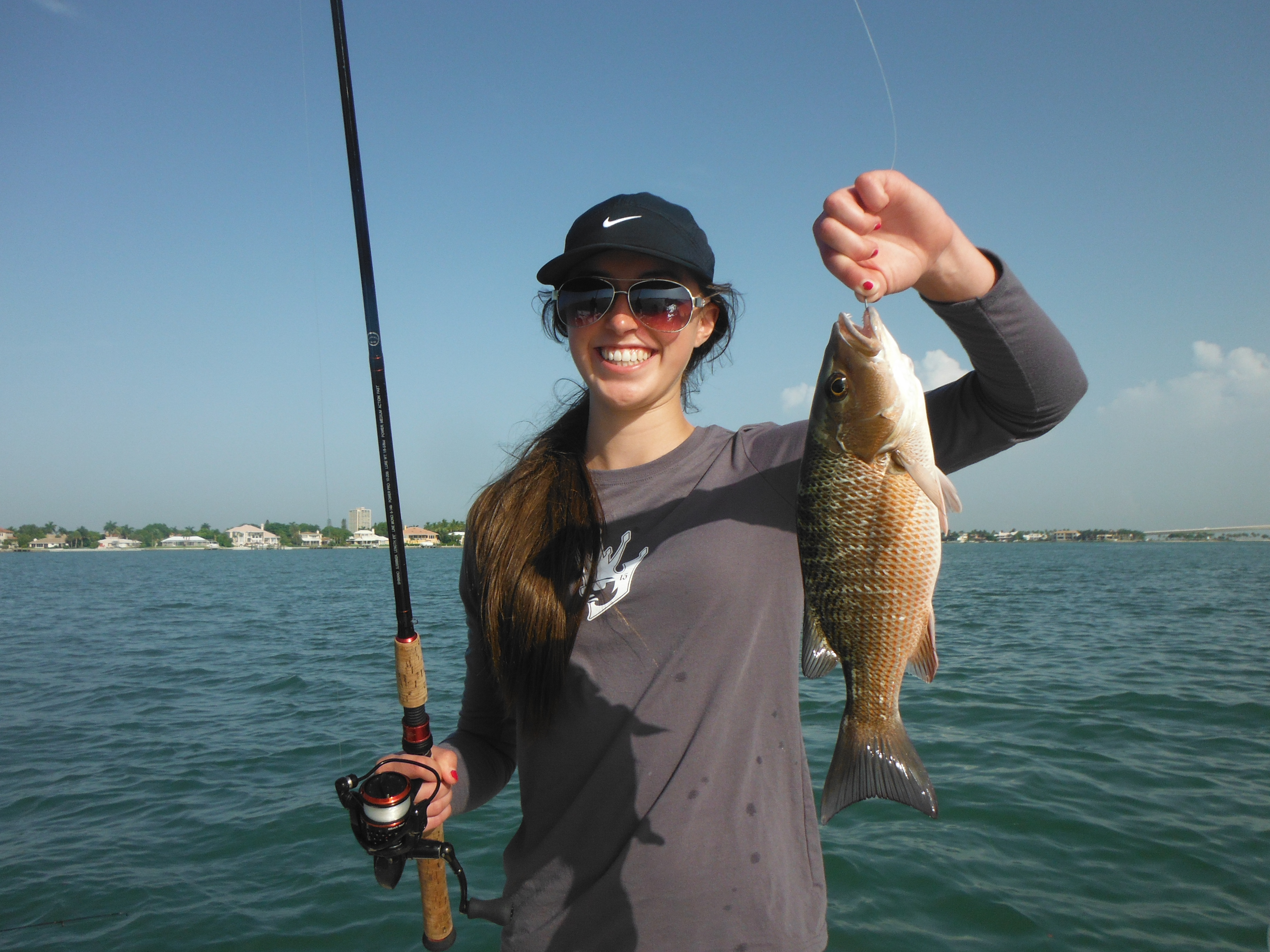 Sarasota snapper fishing charters for Siesta key fishing report
