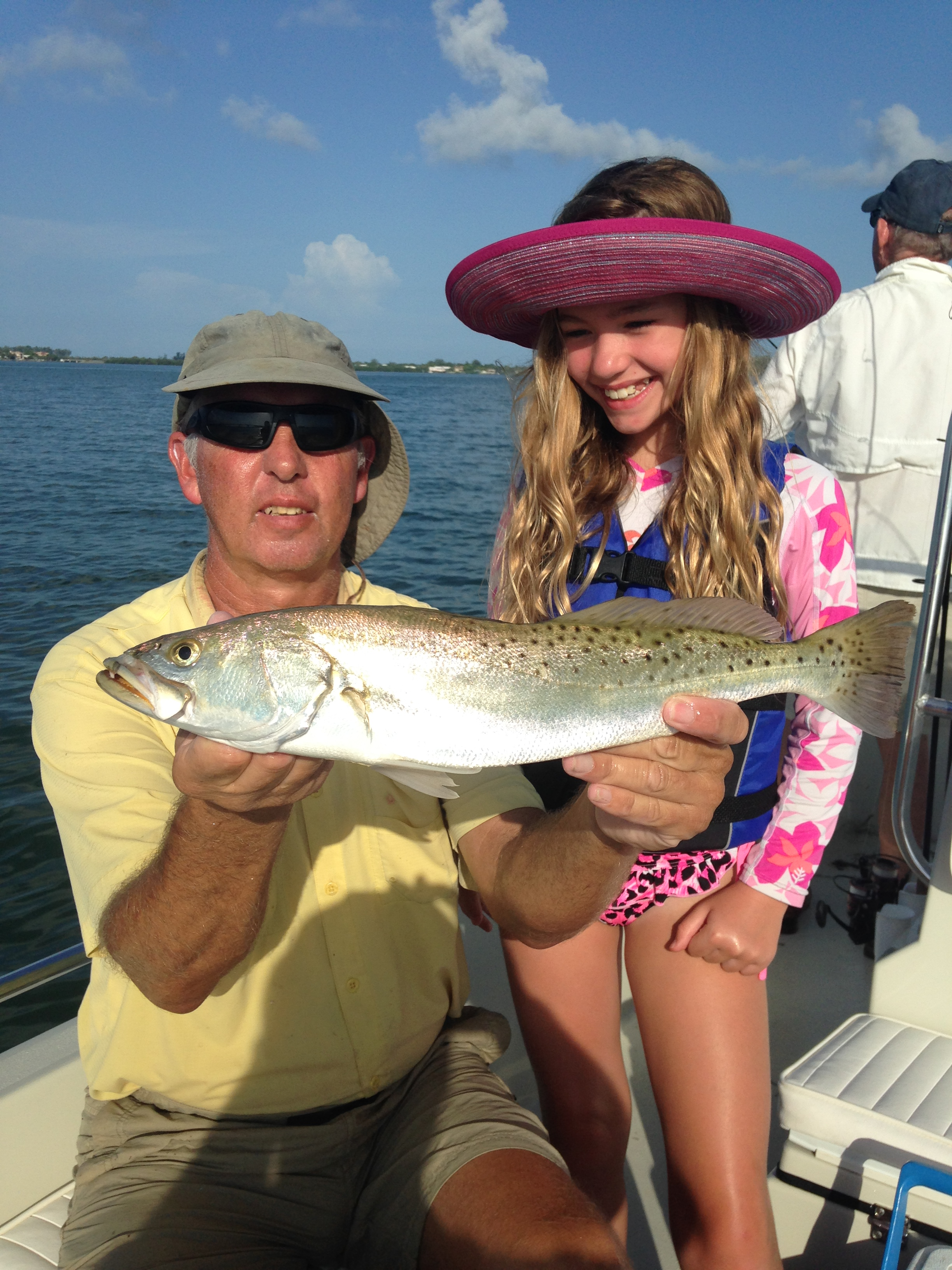 Fast action on siesta key fishing charters for Sarasota fishing report