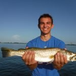 Speckled trout fishing good in Siesta Key