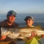 Young client lands trophy Siesta Key snook!
