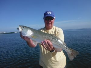 Siesta Key speckled trout fishing
