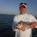 Fishing Siesta Key flats producing trout, mackerel, bluefish, and more!