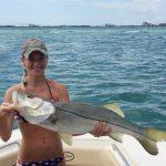 Summer snook fishing in Sarasota!