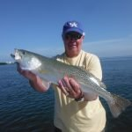 Hot speckled trout fishing in Sarasota!