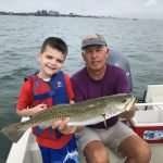 Sarasota speckled trout fishing was excellent in April!