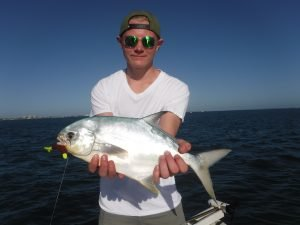 Siesta Key pompano fishing