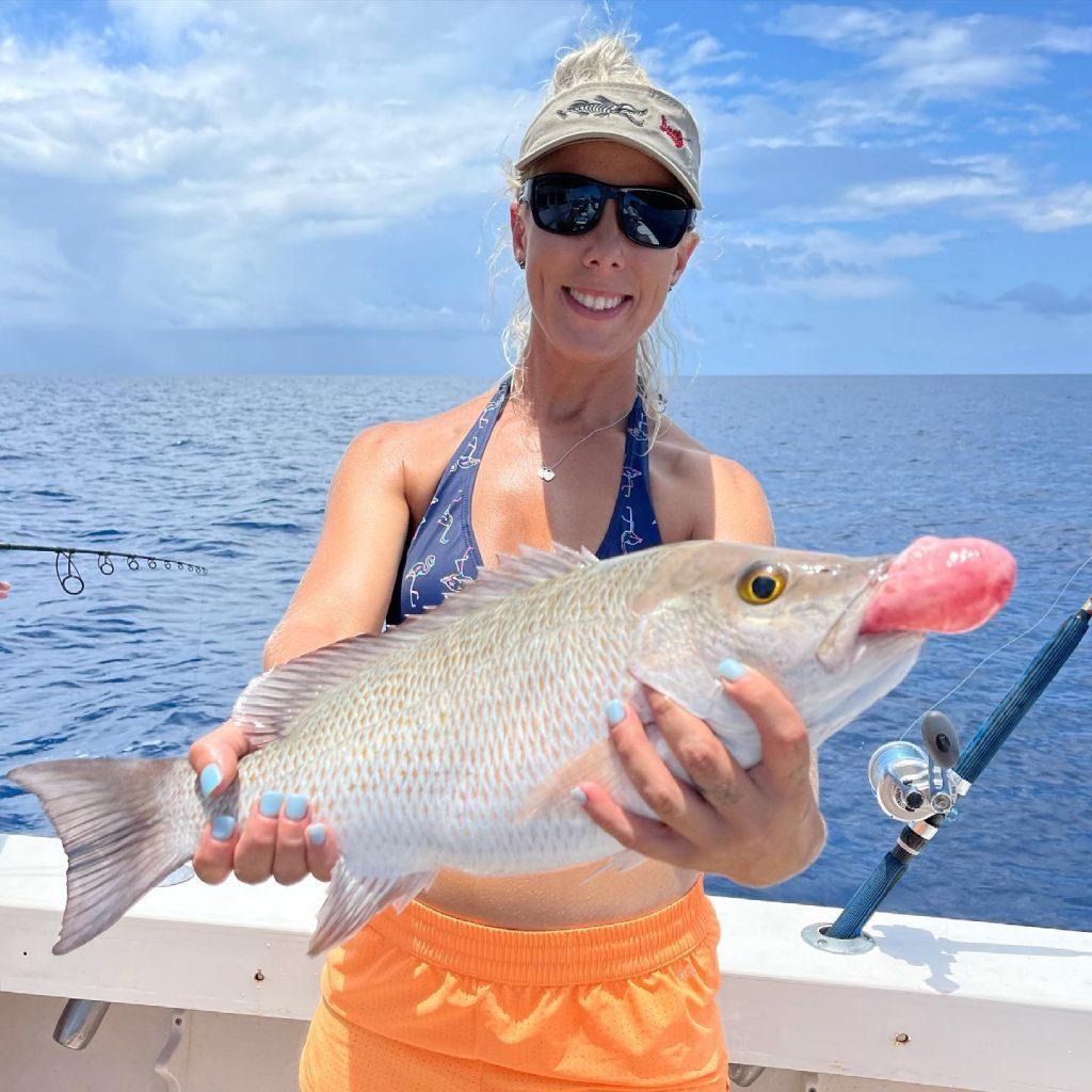 Siesta Key snapper fishing