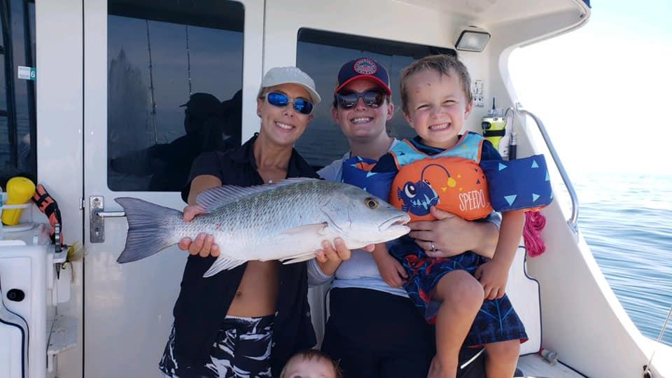 offshore snapper fishing Siesta Key