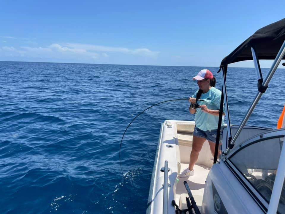 Siesta Key fishing offshore